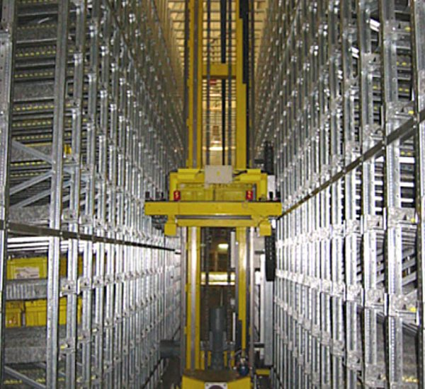 Impianto trasloelevatore Iveco Valladolid (Spagna)