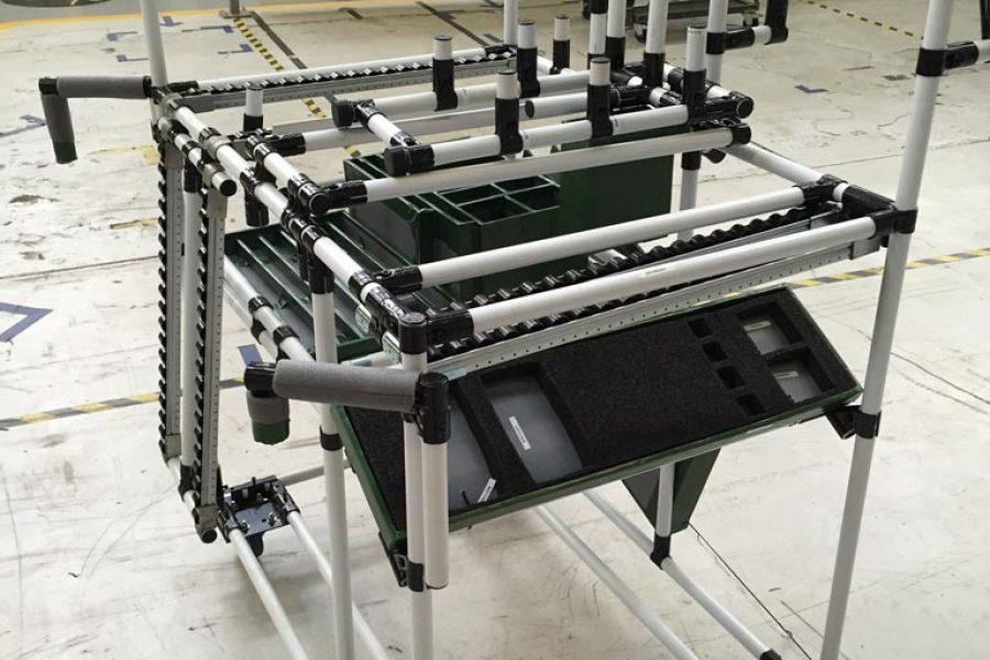 Strutture tubolari Lean FCA Mirafiori