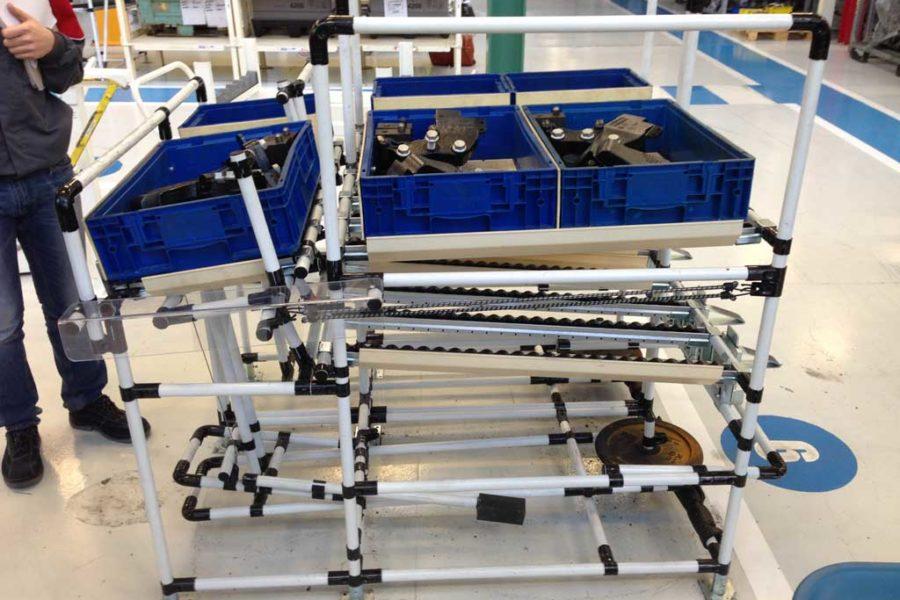 Strutture tubolari lean per stabilimento Bourbon Lancy (Francia)