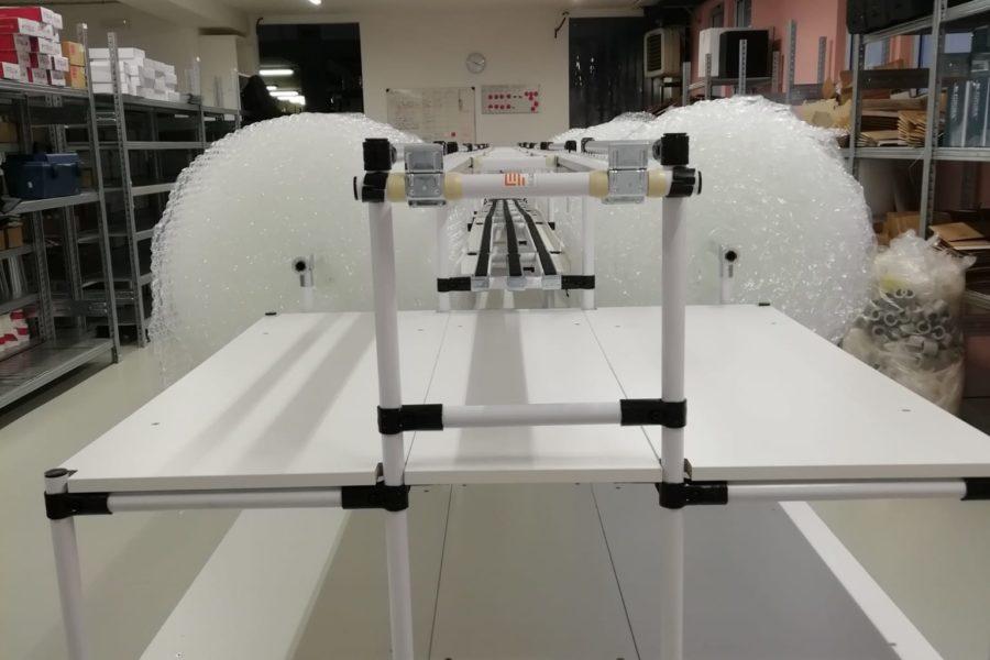 Linea completa per controllo qualità ed imballaggio