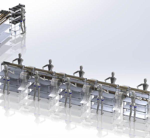 Progetto automazione linea
