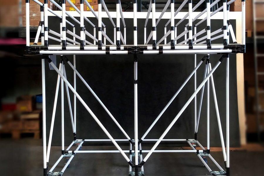 Postazione per l'imballaggio Lean Manufacturing