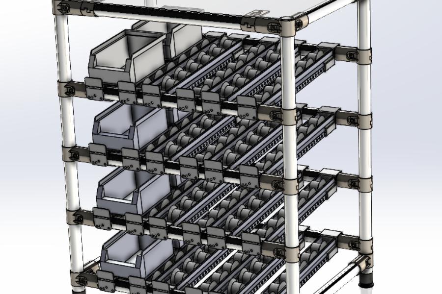 "Buffer da Banco Lavoro in ottica ""Lean Manufacturing"""