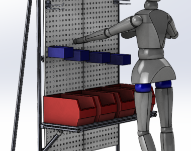 Lean Manufacturing structure for belt support