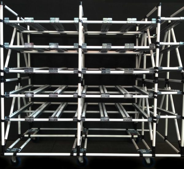 Lean Manufacturing Gravity Shelving