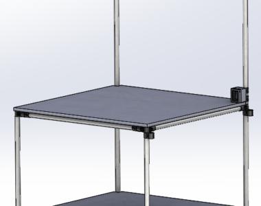 Modular Lean Manufacturing Workbench