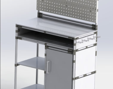 Lean Manufacturing Workbench for tools
