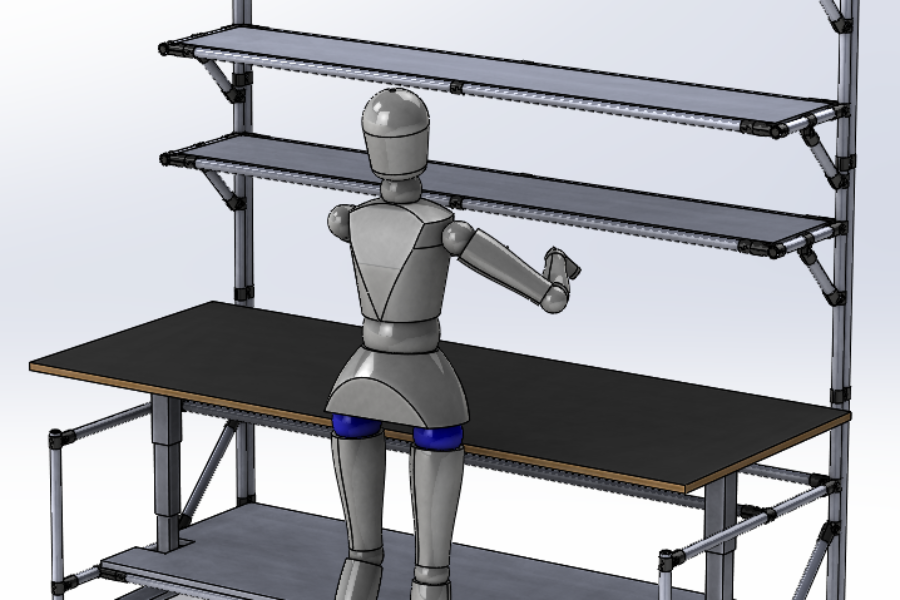 Lean Manufacturing UP & DOWN Workbench